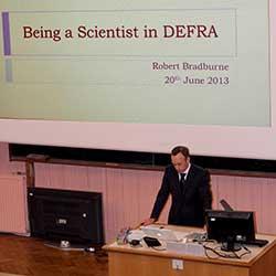 Defra Careers in Science talk