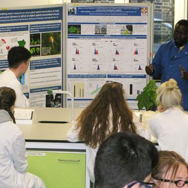 Lab taster day for sixth-form students